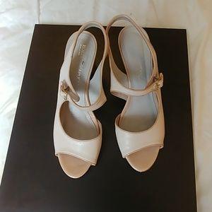 Leather Italian Heeled Sandals